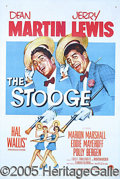 "Entertainment Collectibles:Movie, ""THE STOOGE"" ONE-SHEET. ""THE FOLLOWING SECTION OF POSTERS HAVE..."