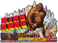 "Entertainment Collectibles:Movie, SENSATIONAL DIE-CUT CARDBOARD 1933 ""KING KONG"" MOVIE SIGN. This..."