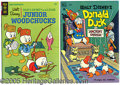 Entertainment Collectibles:Comic Character, WALT DISNEY DONALD DUCK COMICS 1947-1951. This wonderful collec...