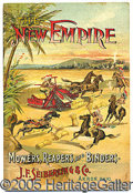 Miscellaneous:Catalogs, NEW EMPIRE MOWERS AND REAPER CATALOG. Beautiful graphics of a g...