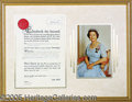 Autographs:Non-American, QUEEN ELIZABETH SIGNED OFFICIAL PARDON DOCUMENT. 1967 pardon, w...