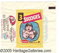 "Miscellaneous:Trading Cards, ""3 STOOGES"" WRAPPER. THE FOLLOWING LOTS REPRESENT AN OUTSTANDIN..."