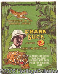 "Miscellaneous:Trading Cards, ""FRANK BUCK"" WRAPPER. Rare early, 1938-dated issue. ..."
