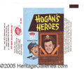"Miscellaneous:Trading Cards, ""HOGAN'S HEROES"" WRAPPER. Scarce wrapper for this cult classic...."