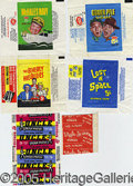 Miscellaneous:Trading Cards, (18) DIFFERENT CLASSIC TV SHOW WRAPPERS. Great selection for th...