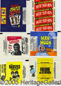 Miscellaneous:Trading Cards, (20 DIFFERENT MISCELLANEOUS WRAPPERS. As shown. Nice, varied co...
