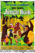 """Entertainment Collectibles:Movie, HOARD OF """"JUNGLE BOOK"""" ONE-SHEET MOVIE POSTERS. (23) Crisp MN-MT..."""