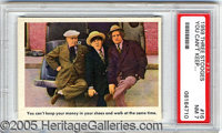 "THREE STOOGES CHECKLIST. Fleer's 1959 release of ""The Three Stooges"" has provided the non-sport hobby with one..."