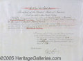 Autographs:U.S. Presidents, GROVER CLEVELAND SIGNED APPOINTMENT. 1893 document appointing C...