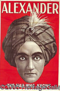 Antiques:Posters & Prints, LOT OF 3 IDENTICAL EARLY-1900'S MAGIC POSTERS. Each is in beaut...