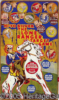 Entertainment Collectibles:Comic Character, LONE RANGER TIN LITHOGRAPHED GAME BOARD. Great looking tin lith...