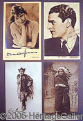 Miscellaneous:Postcards, MORE SIGNED POSTCARDS.. Please not...