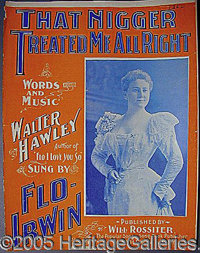SHEET MUSIC.. P FONT color=ff0000 STRONG Please note: /STRONG Autographs from the Leonard Finger collection have not bee...