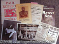 Entertainment Collectibles:Theatre, PAUL ROBESON AND CANADA LEE.. Plea...