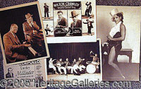 MUSICIAN PUBLICITY STILLS.. P FONT color=ff0000 STRONG Please note: /STRONG Autographs from the Leonard Finger collectio...