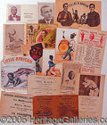 Miscellaneous:Ephemera, COLLECTION OF TRADE, BUSINESS, AND PROMOTIONAL CARDS, ETC..
