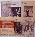 "Entertainment Collectibles:Theatre, ""PLAYBILL"" MAGAZINES.. Please note..."