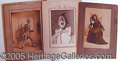 Entertainment Collectibles:Vaudeville, MOUNTED AND UNMOUNTED MINSTREL PHOTOS..