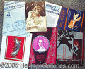 Entertainment Collectibles:Vaudeville, PROGRAMS FOR ADULT REVUES AND NIGHT CLUBS..
