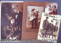 Entertainment Collectibles:Vaudeville, LARGE GROUP OF PUBLICITY STILLS AND SNAPSHOTS..