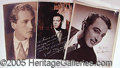 Entertainment Collectibles, FINE GROUP OF PORTRAITS– MANY AUTOGRAPHED..
