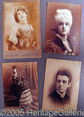 Photography:Cabinet Photos, FEMALE IMPERSONATOR CABINET CARDS..