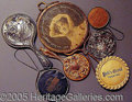 Advertising:Pocket Mirrors & Pinbacks, HERE'S LOOKING AT YOU!. Please not...