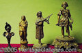 Entertainment Collectibles:Theatre, FOUR FIGURAL SOUVENIRS.. Please no...