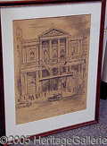 Entertainment Collectibles:Theatre, EDWARD CASWELL SKETCH.. Please not...