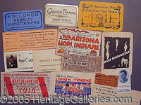 GROUP OF 136 PIECES OF ASSORTED EPHEMERA FROM THE TURN OF THE 20TH-CENTURY ONWARD.. P FONT color=ff0000 STRONG Please no...