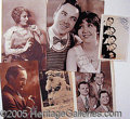 Autographs:Celebrities, GROUP OF THIRTY-FOUR SIGNED PHOTOS..