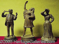 Entertainment Collectibles:Theatre, [PERFORMANCE SOUVENIRS] THREE STANDING FIGURALS..