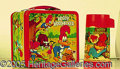 Miscellaneous:Lunchboxes, WOODY WOODPECKER EMBOSSED ALADDIN BOX. From 1972 this embossed b...