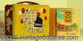 Miscellaneous:Lunchboxes, ONE OF THE RAREST LUNCH BOXES TOPPIE TOP VALUE STAMPS LIMITED DI...