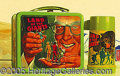 Miscellaneous:Lunchboxes, LAND OF GIANTS LUNCHBOX. Based on the 1969 TV series this emboss...
