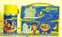 """THE JETSON'S LUNCHBOX. """"Meet George Jetson"""" while you have your lunch at school!! What a beautiful box!! Very..."""