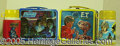 Miscellaneous:Lunchboxes, E.T. AND STAR WARS LUNCH BOXES. Two great outer space flicks tha...