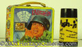 Miscellaneous:Lunchboxes, LAUGH IN LUNCH BOX. This great Sock-It-To-Me lunchbox pictures t...