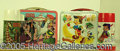 Miscellaneous:Lunchboxes, DR. DOOLITTLE AND PINNOCHIO LUNCHBOXES. Here we have a Disney cl...