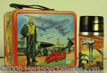Miscellaneous:Lunchboxes, STEVE CANYON LUNCHBOX. This comic strip turned TV series in 1959...