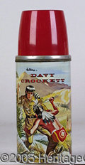 Miscellaneous:Lunchboxes, DAVY CROCKETT THERMOS. Excellent condition. Beautiful graphics. ...