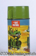 Miscellaneous:Lunchboxes, RAT PATROL THERMOS. Based on the TV series of the same name , th...