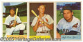 Miscellaneous, LARGE GROUP LOT OF 1954 BOWMAN BASEBALL CARDS. 95 cards graded ...