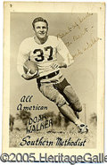Miscellaneous, UNUSUAL AUTOGRAPHED 1948 REAL PHOTO POSTCARD OF DOAK WALKER. Fr...