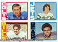 Miscellaneous, 1972 TOPPS FOOTBALL SET (LOW NUMBERS). This was the basic Topps ...