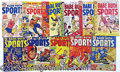 "Miscellaneous, ""BABE RUTH SPORTS"" COMIC BOOKS - COMPLETE SET. One of the more o..."