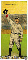 Miscellaneous, T201 COBB/CRAWFORD. From the 1911 Mecca Double Folder production...