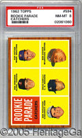 Miscellaneous, 1962 TOPPS BOB UECKER ROOKIE CARD. For the multitalented Bob Ue...