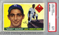 Miscellaneous, 1955 KOUFAX ROOKIE CARD. Even as the image emerged from a 1955 ...