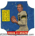 Miscellaneous, D290-15 Y. A. TITTLE. In the early '50's, much of America's you...